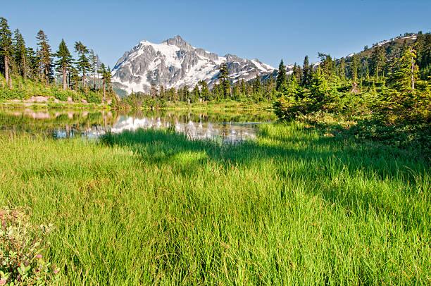 Lac Picture Lake et le Mont Shuksan-VII - Photo