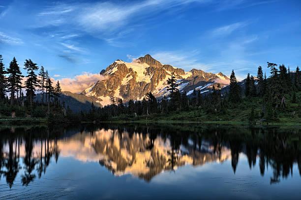 Lac Picture Lake - Photo