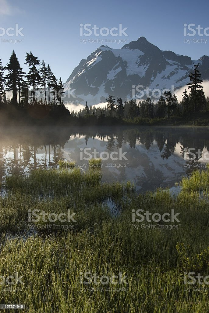 Picture Lake Reflection royalty-free stock photo