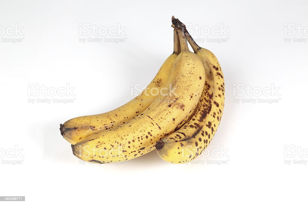 Picture of 3 bananas stock photo