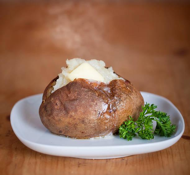 Gebackene Kartoffel – Foto