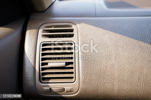 824789150 istock photo Picture of air conditioning channel in a car 1213229098