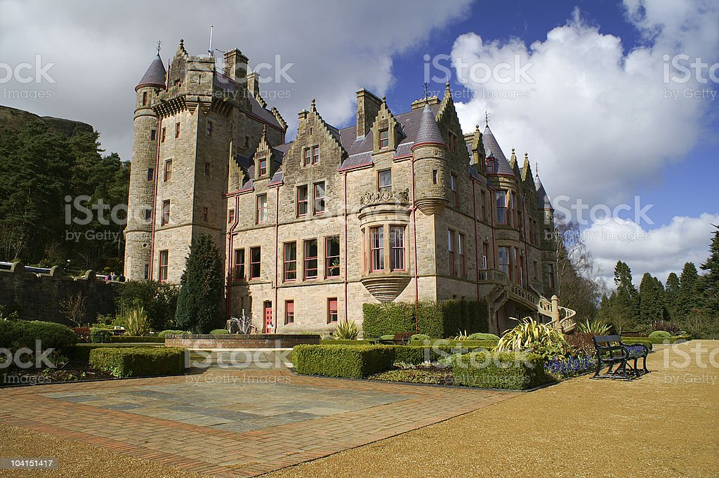 Photo du château de Belfast en Irlande du Nord. - Photo