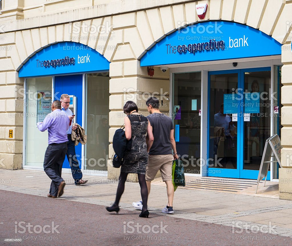 Picture of  Co-operative Bank Brach stock photo