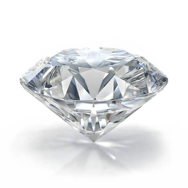 picture of diamond. beautiful sparkling shining round shape emerald image. - brillante fotografías e imágenes de stock