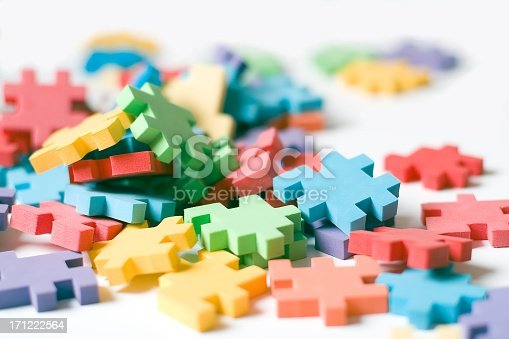 istock A picture of different color puzzle pieces 171222564