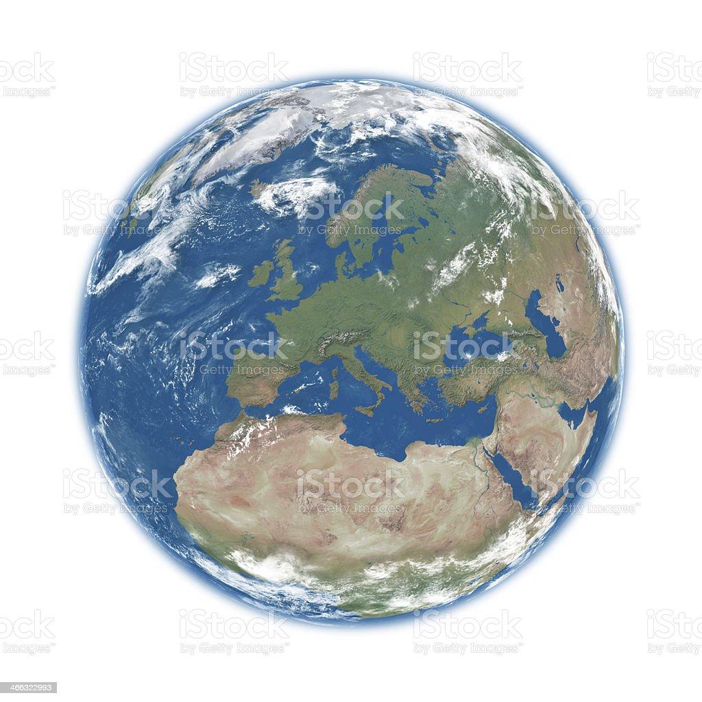 Europa auf blue Earth – Foto