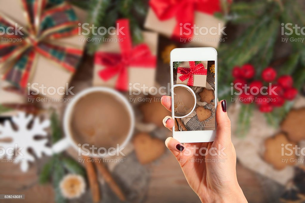 picture of gingerbread cookies stock photo