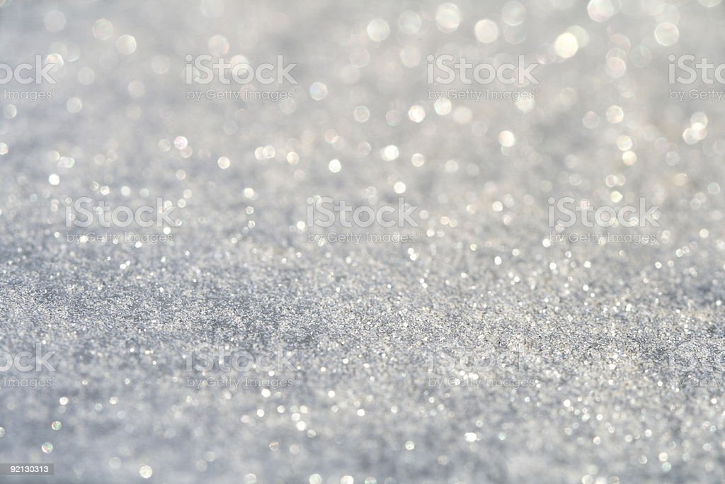 A picture of glitter dust on a background stock photo