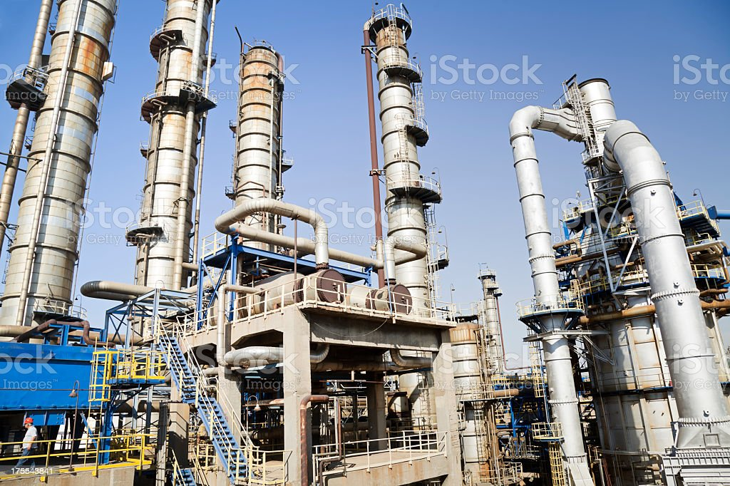 Picture of Petrochemical Plant stock photo