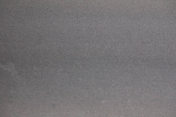 Picture of smooth gray asphalt foto