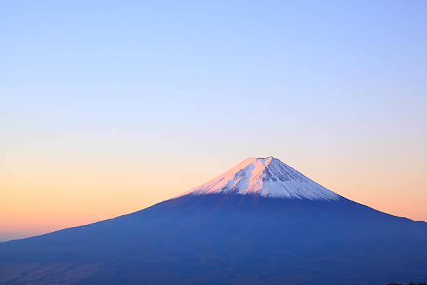 デイブレーク、富士山 - 富士山 ストックフォトと画像