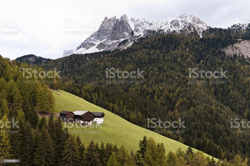 Picture of South Tyrol royalty-free stock photo