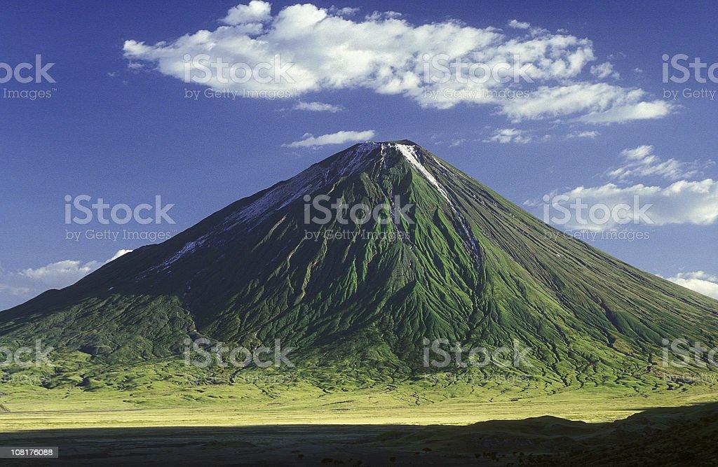 Picture of the Masai mountain Ol Doinyo Lengai royalty-free stock photo