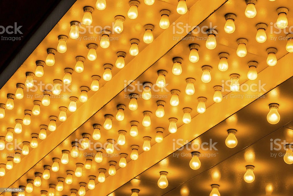 Picture of Theater Lights stock photo