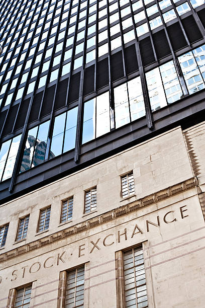 Picture of Toronto stock exchange building