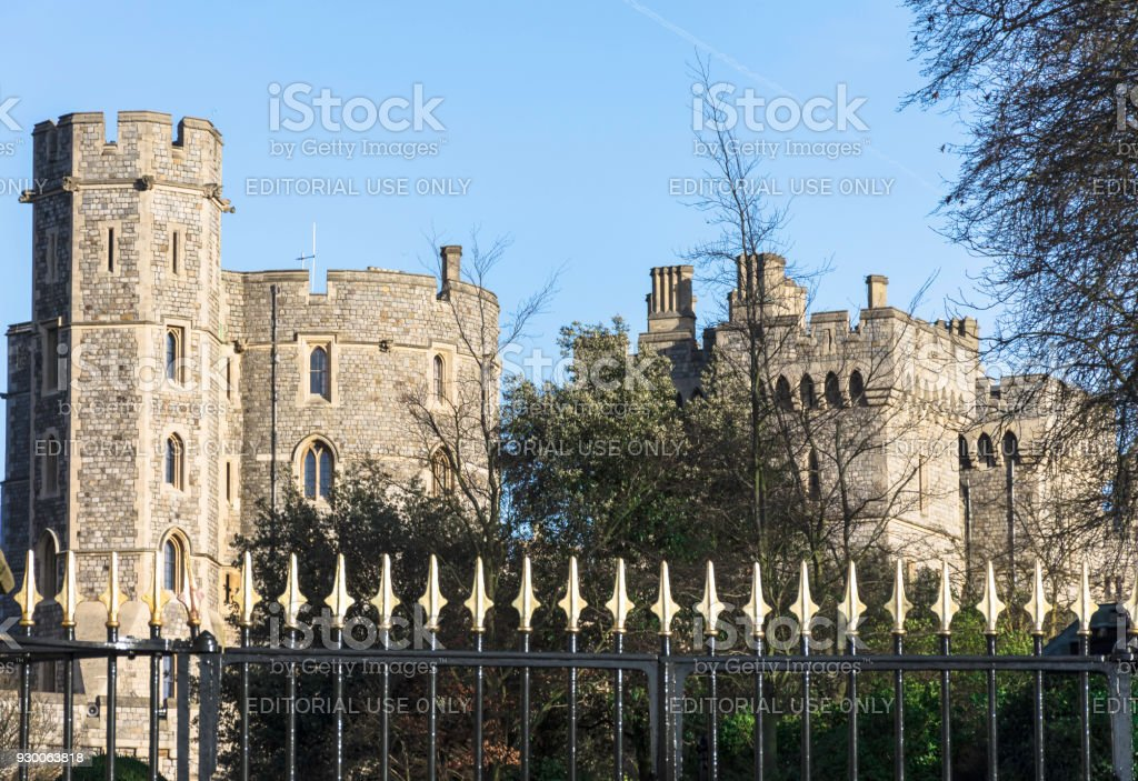 Picture of Windsor Castle stock photo