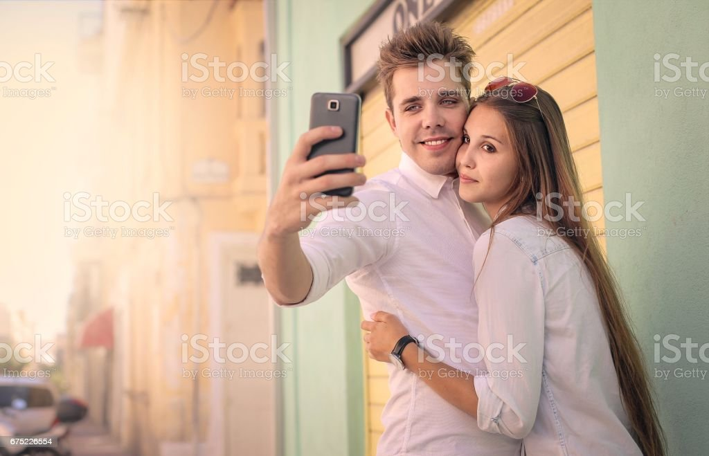 Picture on the street royalty-free stock photo