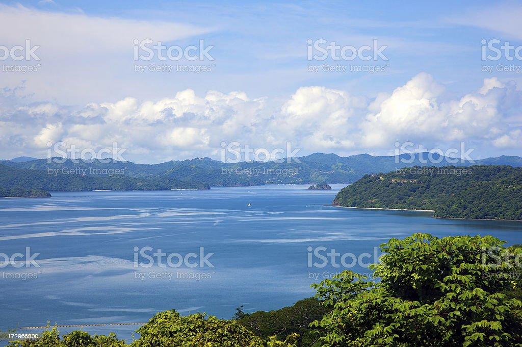 Picture perfect coastline royalty-free stock photo