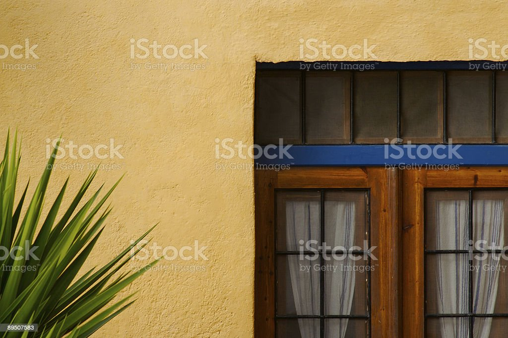 Picture Perfect Doorway royalty-free stock photo