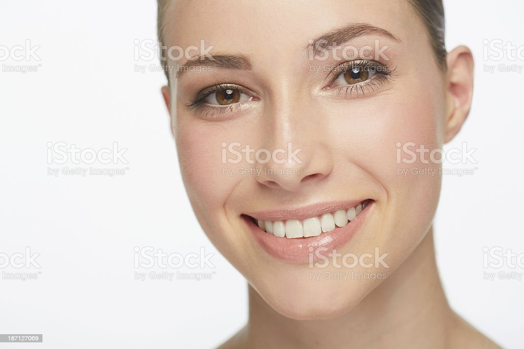 Picture perfect smile royalty-free stock photo