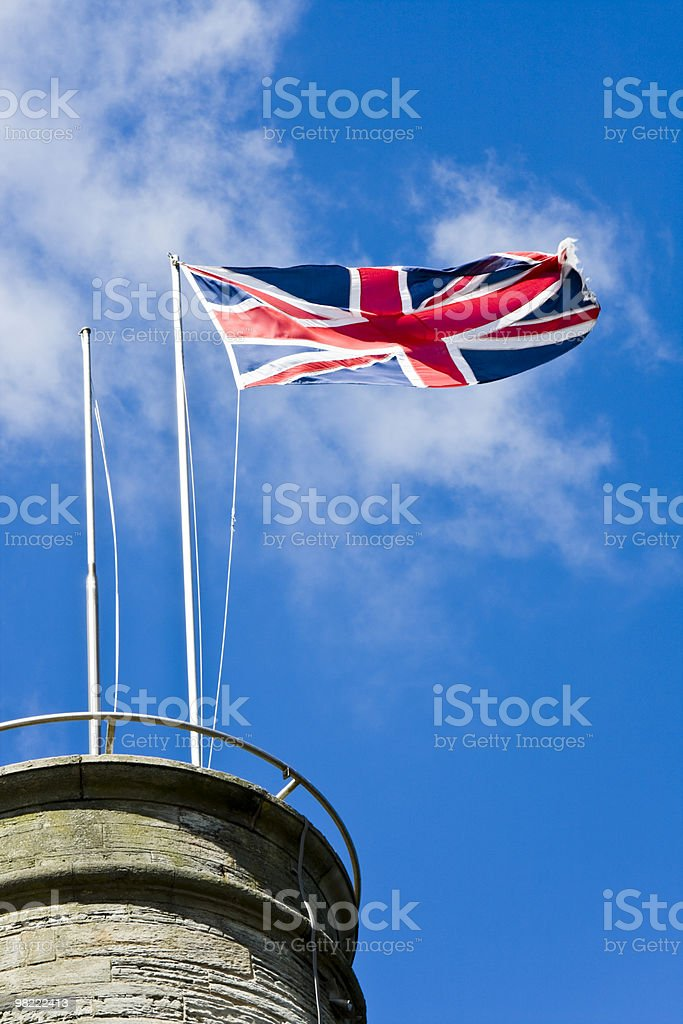 Picture taken Whitehaven Harbour tower royalty-free stock photo