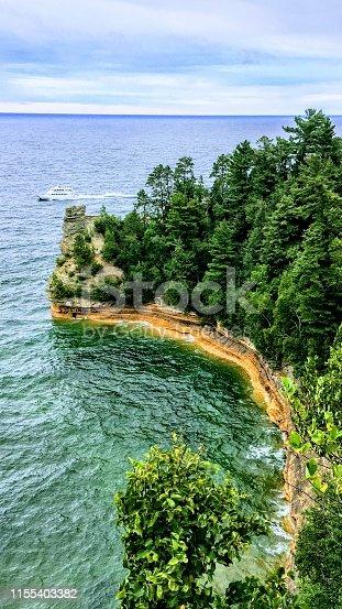 136169151istockphoto Pictured Rocks National Lakeshore Miner's Castle 1155403382