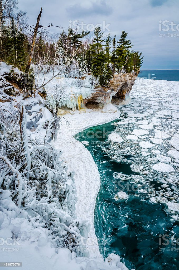 Pictured Rocks Stock Photo Download Image Now Istock