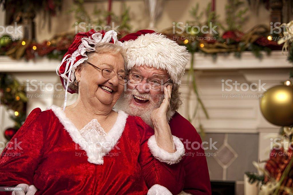 Des photos de vrais santa danse avec la m re no l photos - Photo de mere noel a telecharger ...