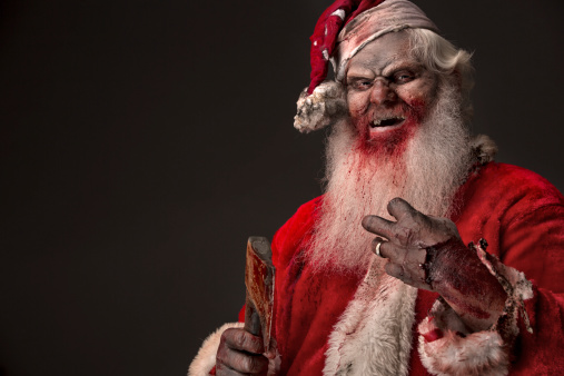Pictures of Real Santa Zombie the Serial Killer