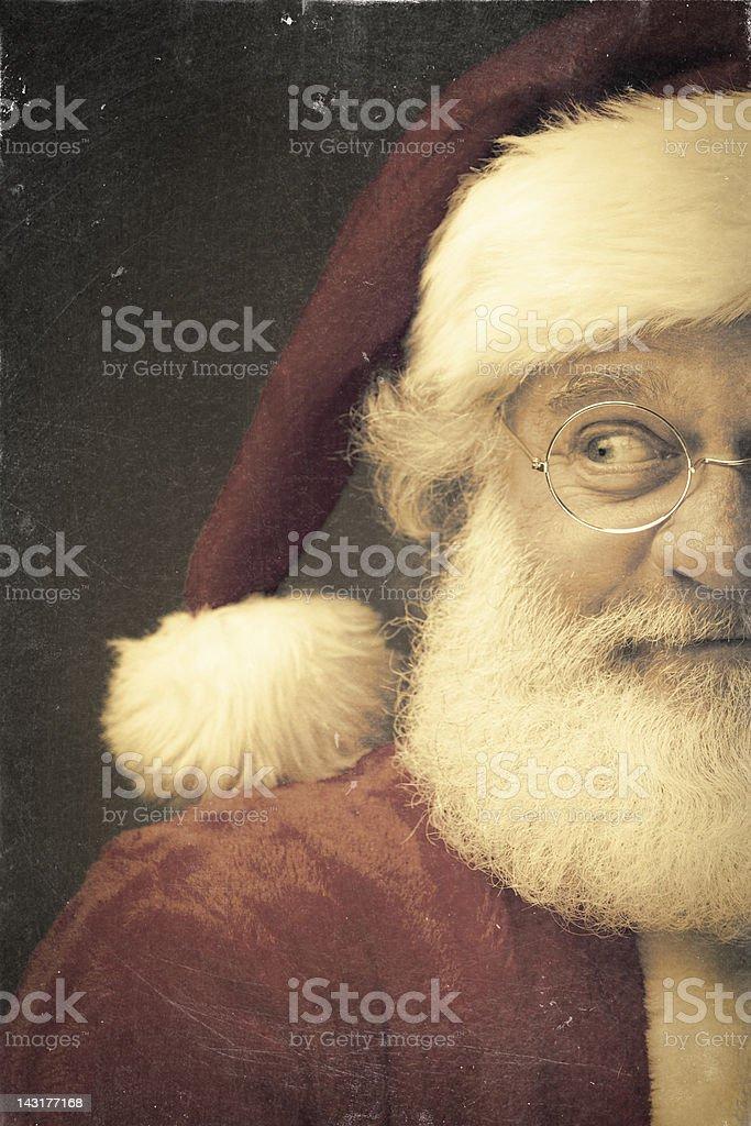 Bilder von echten Vintage-Weihnachtsmann – Foto