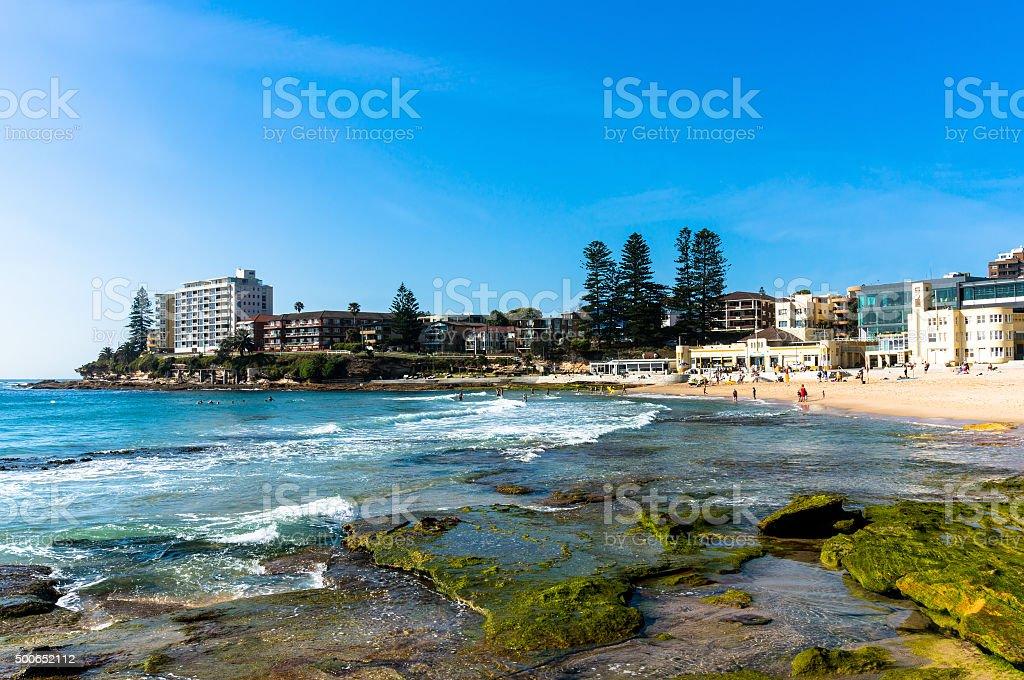 Picturesque Australian beach stock photo