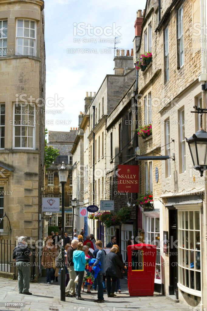 Picturesque Bath stock photo