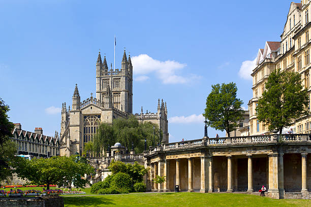 Picturesque Bath  bath abbey stock pictures, royalty-free photos & images