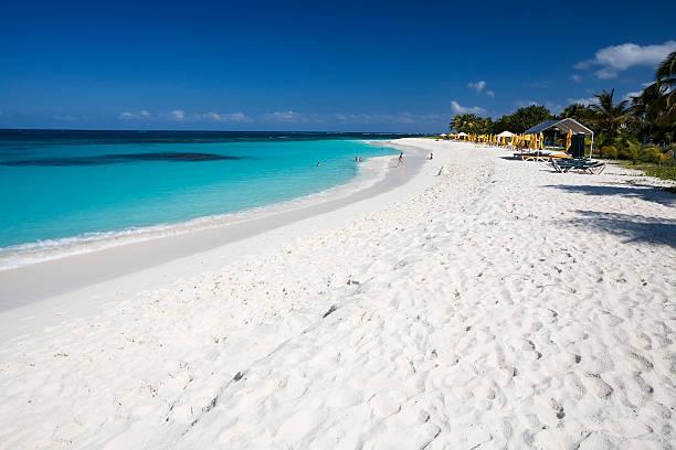 Picturesque Caribbean Beach stock photo