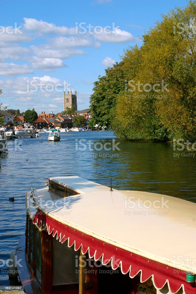 Picturesque Chilterns - Henley stock photo