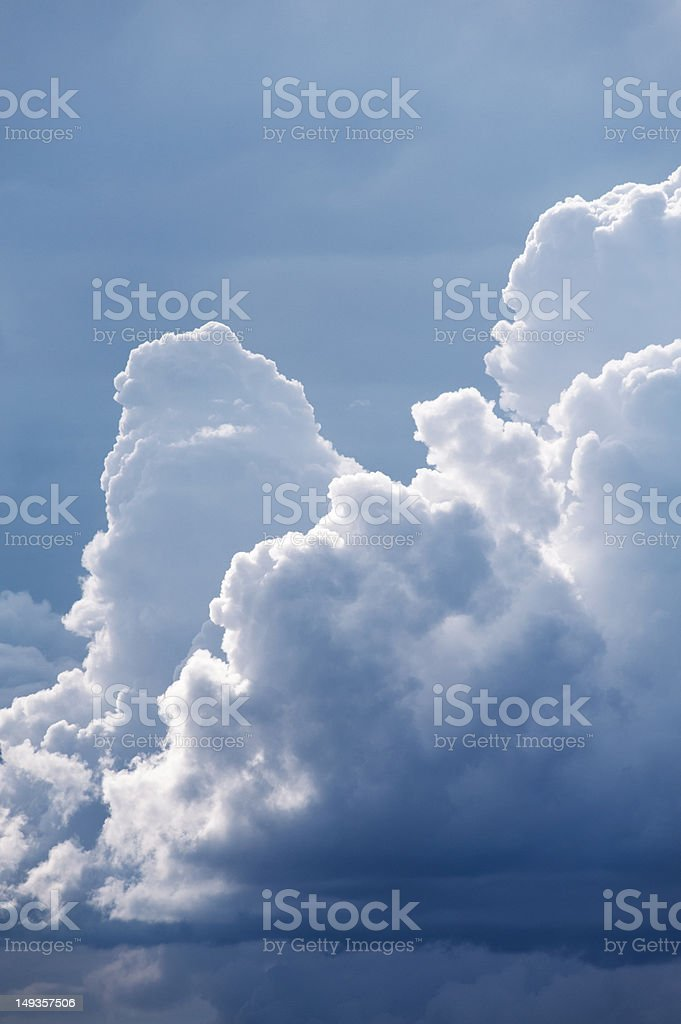 Picturesque clouds royalty-free stock photo