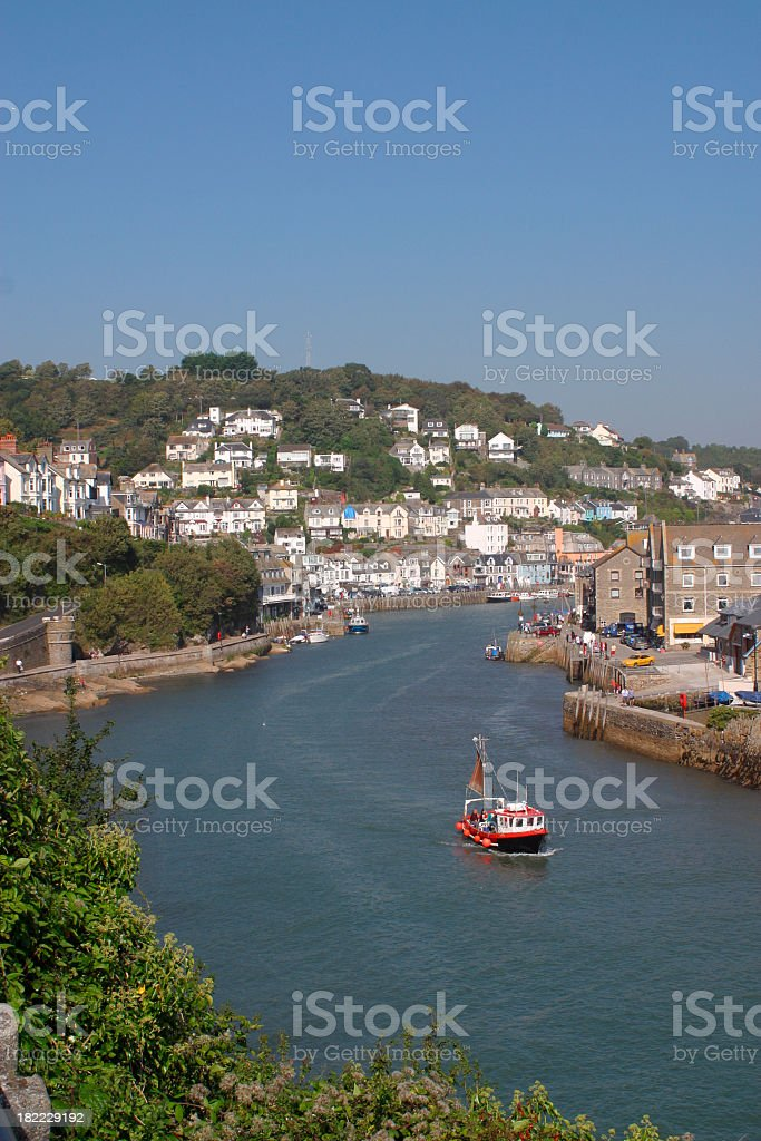 Picturesque Cornwall - Looe royalty-free stock photo