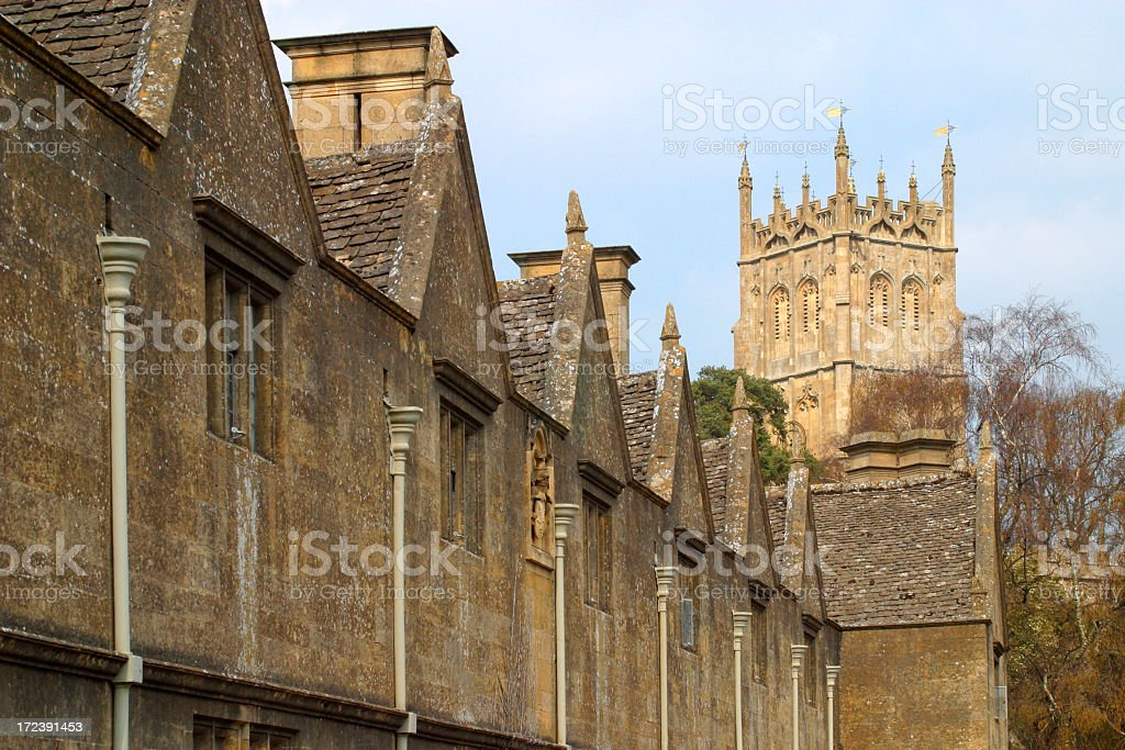 Picturesque Cotswolds - Chipping Campden royalty-free stock photo