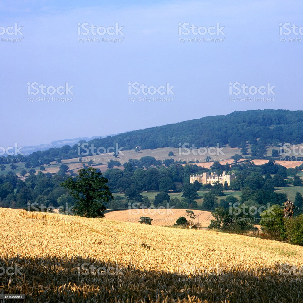 Picturesque Cotswolds - Sudeley Castle stock photo