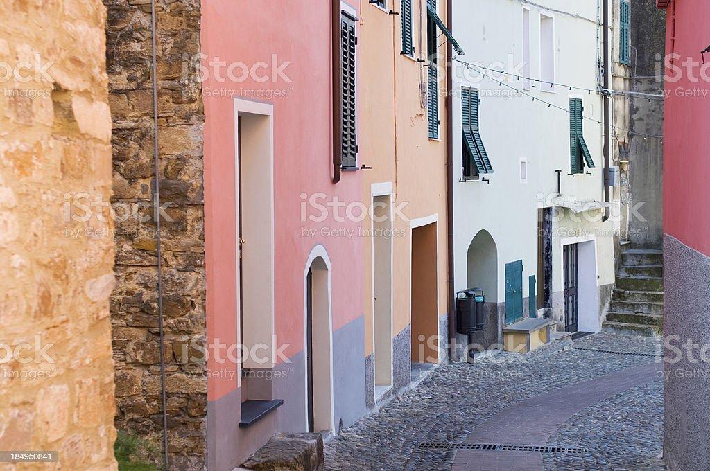 Picturesque Italian village royalty-free stock photo