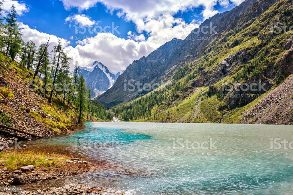 Malerische Landschaft Gebirge Altai Russland – Foto