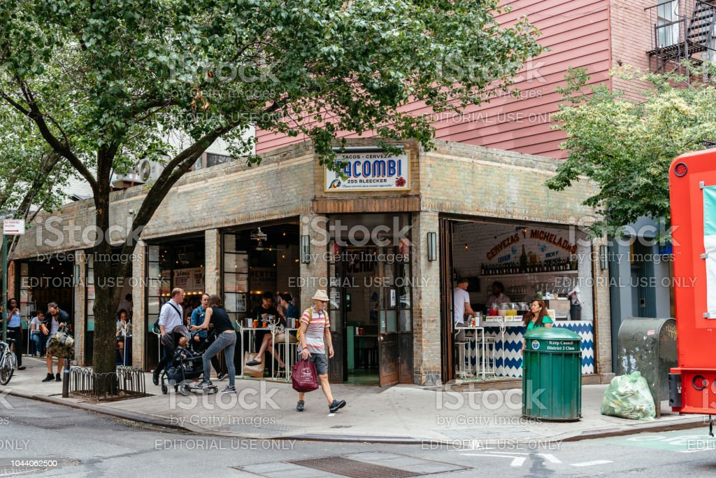Picturesque Mexican Restaurant In Greenwich Village In Nyc Stock Photo Download Image Now