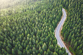 istock Picturesque Mountain Road 1205569631