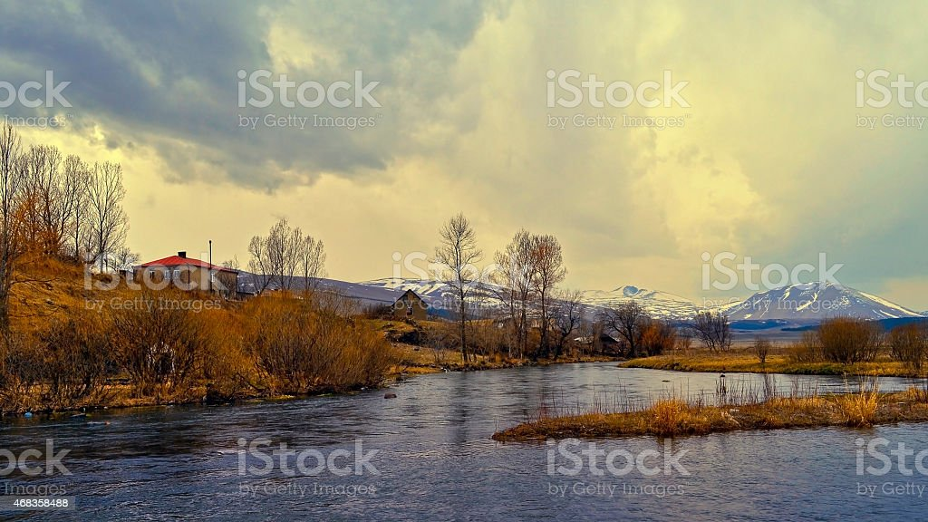 picturesque nature photo royalty-free stock photo