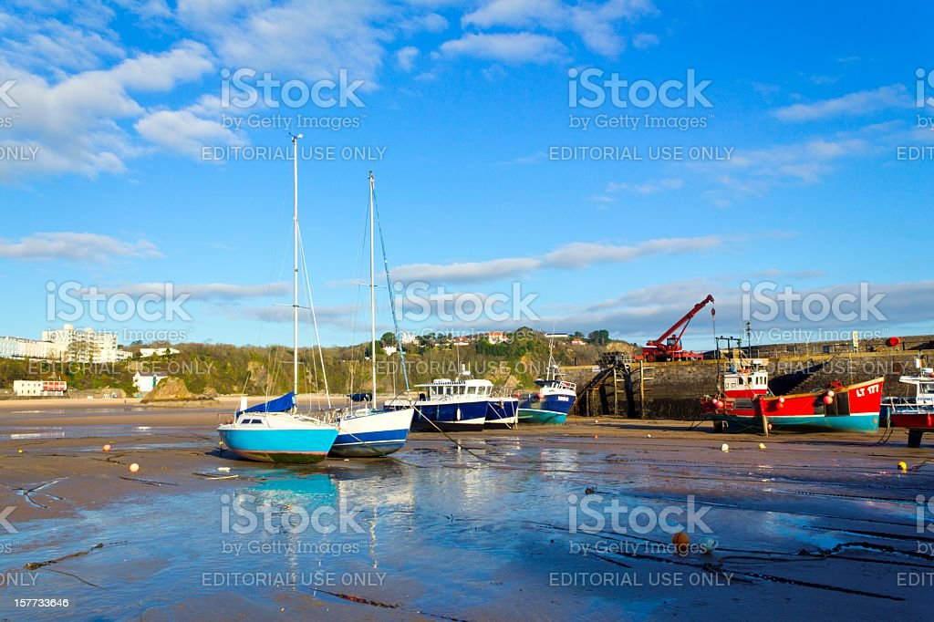 Picturesque Pembrokeshire - Tenby royalty-free stock photo