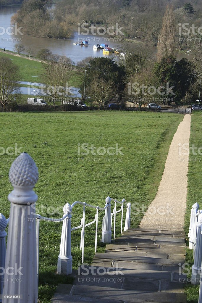 Picturesque Richmond royalty-free stock photo