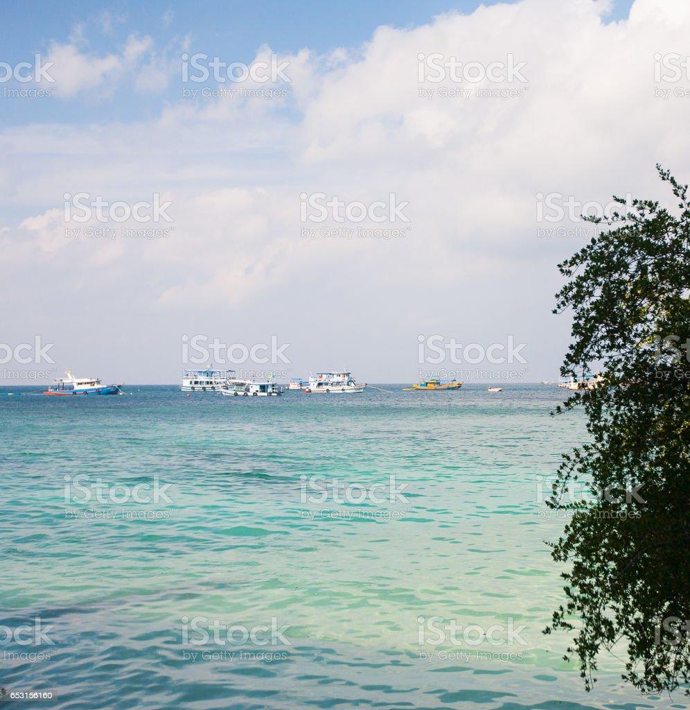 Malerische Meer-Landschaft  – Foto