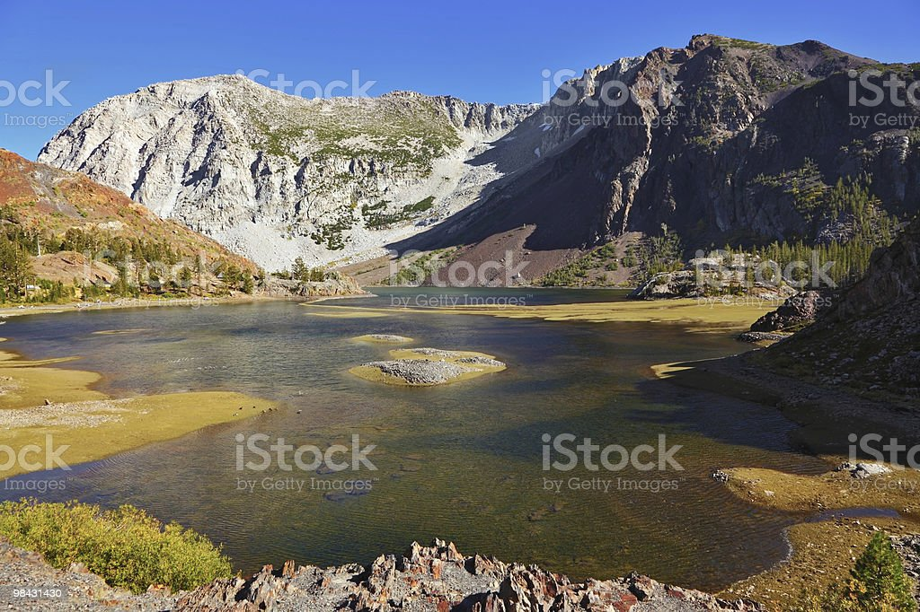 Picturesque shallow lake royalty-free stock photo