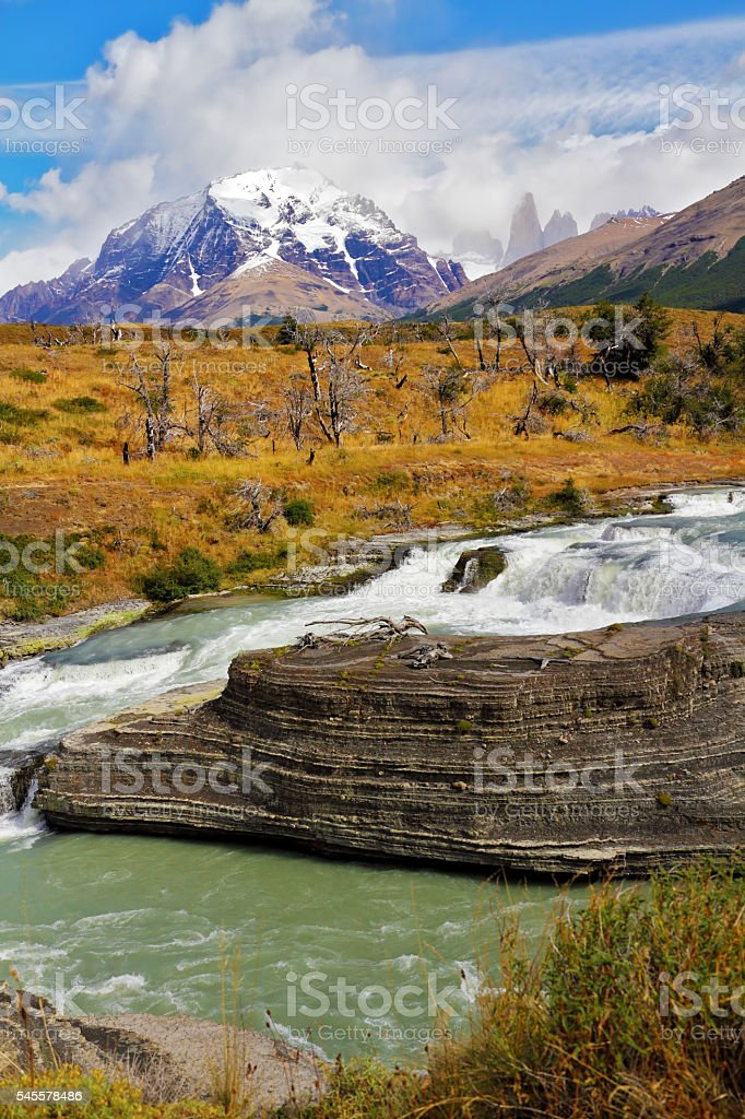 Picturesque southern Chile stock photo